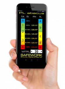 Safework, App calculo pl