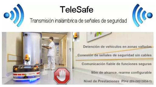 Seguridad Inalámbrica para Maquinas