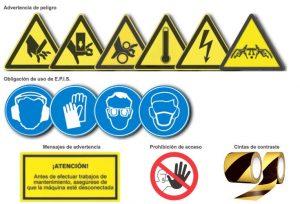 señalizacion seguridad maquinas safework