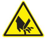 Señal Safework, Corte/Punzonamiento