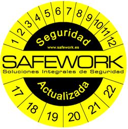 Safework, logo seguridad actualizada