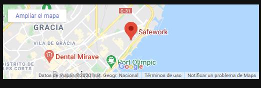 Mapa Safework